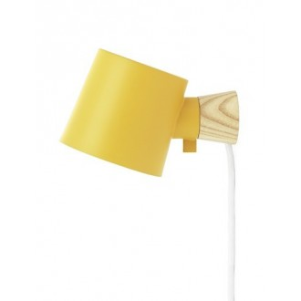 yellow - Rise wall lamp
