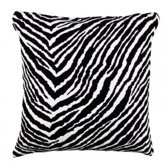 50x50cm - Wool - Zebra cushion