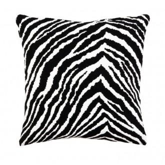 40x40cm - Wool - Zebra cushion