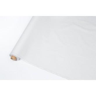 coton enduit gris / blanc -...
