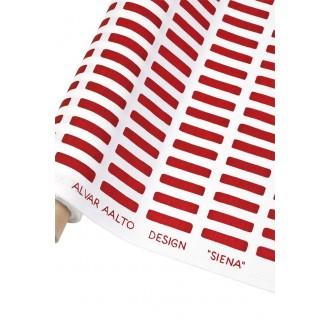 Coton - Blanc / Rouge - Siena
