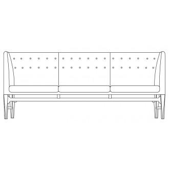 3-seater - Mayor sofa - AJ5