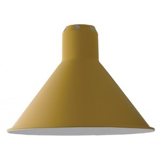 yellow conic L - shade