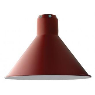cône S rouge - abat-jour
