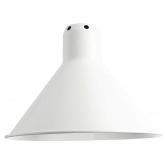 cône S blanc - abat-jour