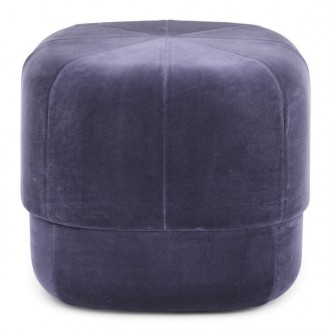 small - purple - Circus pouf