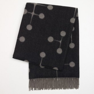 black - Eames Wool Blanket