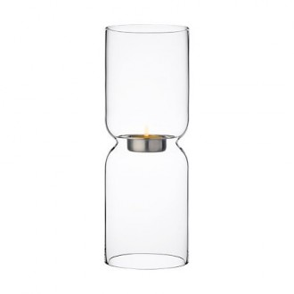 250mm - clear candleholder...