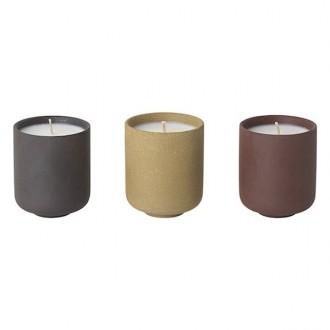 3 x bougies parfumées Sekki