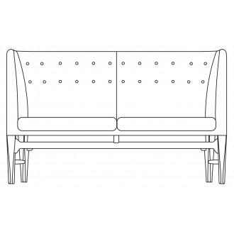 2-seater - Mayor sofa - AJ6