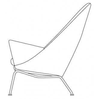 CH468 Oculus armchair