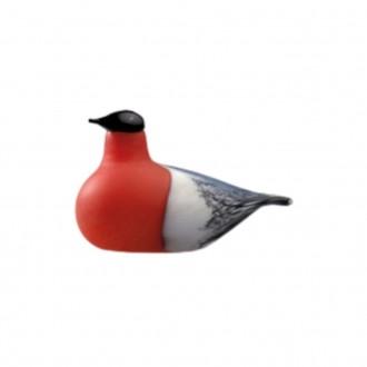 75x105mm - oiseau red/white...