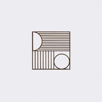 Outline Square trivet