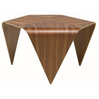 walnut - Trienna side table