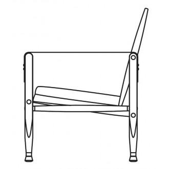 Safari chair (seat cushion...