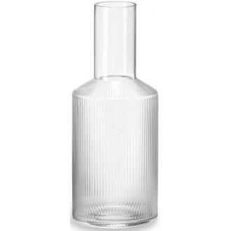 carafe Ripple transparente