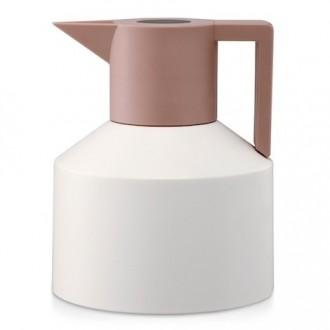 White - Geo vacuum jug 1L