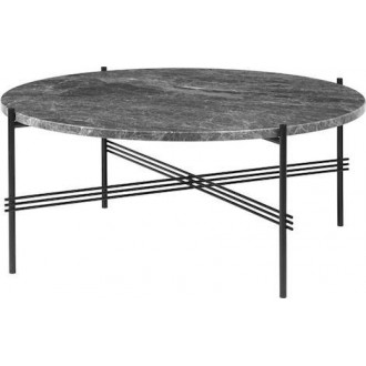 Ø80xH35cm - grey marble -...