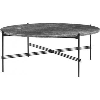 Ø105xH40cm - grey marble -...