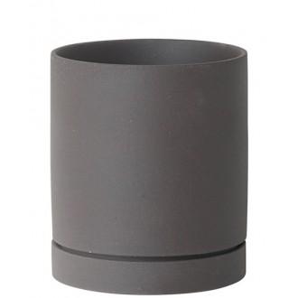 medium - charcoal - Sekki pot