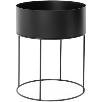 noir - Plant Box ronde