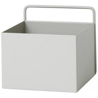light grey - square Wall Box