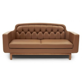 leather - sofa 2 seater -...