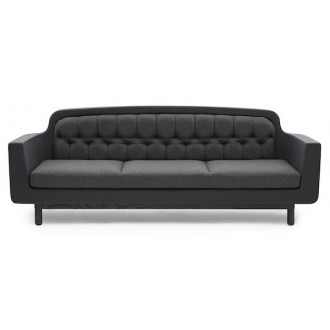 dark grey - sofa 3 seater -...