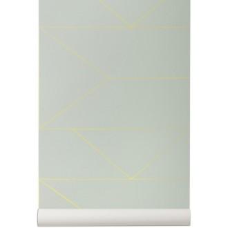 mint - Lines Wallpaper