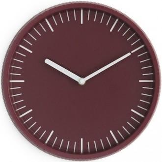 rouge foncé - horloge Day