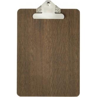 A4 - smoked oak - clipboard