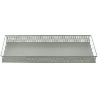 dusty green - metal tray
