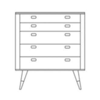 chest of drawers - AK2430