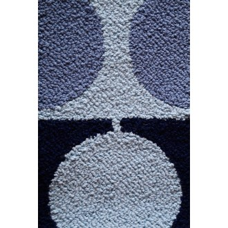 175x175 cm - bleu/marine -...