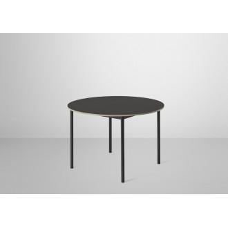Ø110cm - linoleum noir +...