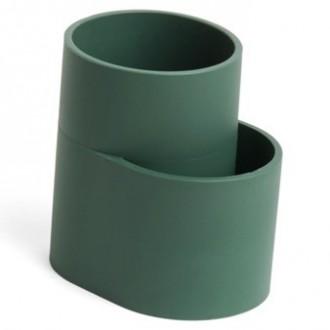 dark green cutlery holder