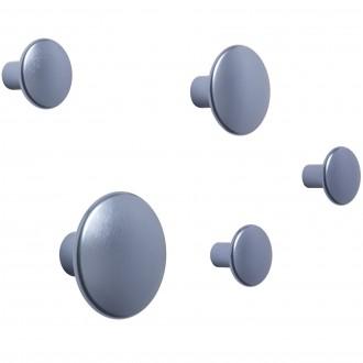 pale blue - 5 x The Dots metal