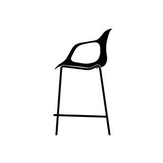 with armrests - Nap bar stool