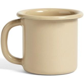 tasse marron Enamel