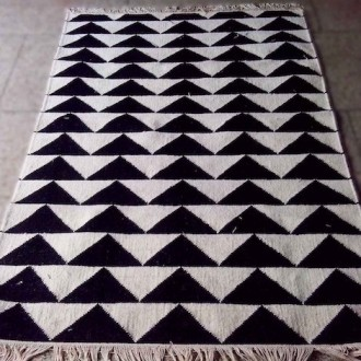 110x170cm - tapis Triangle