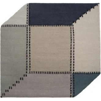 120x120cm - dark blue, grey...