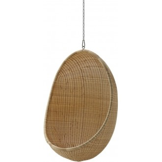 natural - hanging Egg chair...