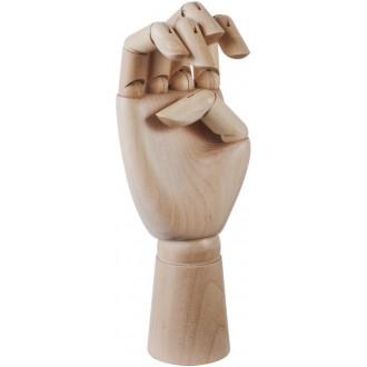 L - wooden hand