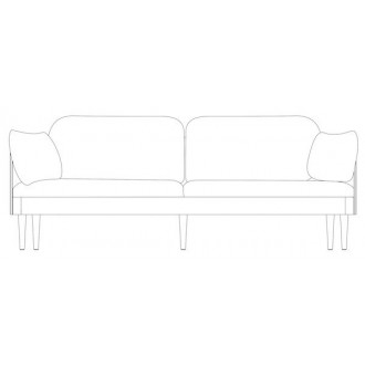 3-seater sofa - Septembre