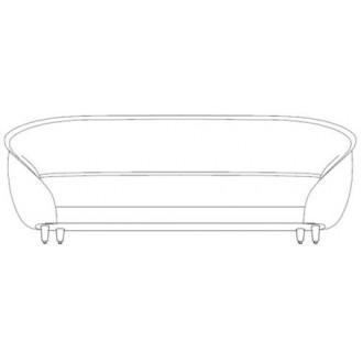 215x100cm - canapé Revers