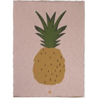 ananas - plaid Fruiticana