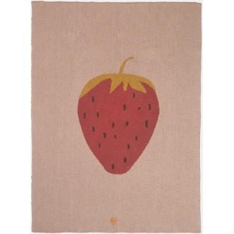 fraise - plaid Fruiticana