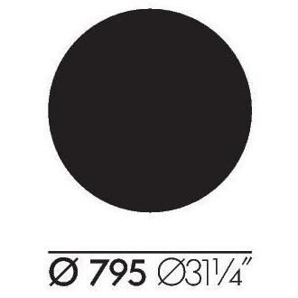 Ø79.6xH74cm - table...