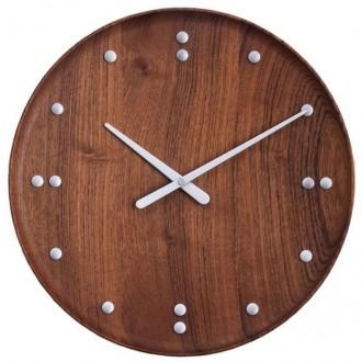 FJ Clock - Ø35cm - teak