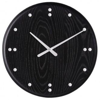 Ø35cm - frêne teinté noir -...